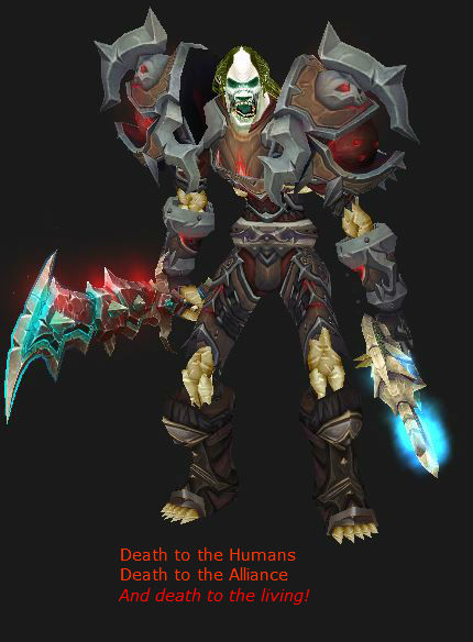 Undead Death Knight states his opinion