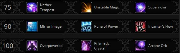 Warlords Mage arcane