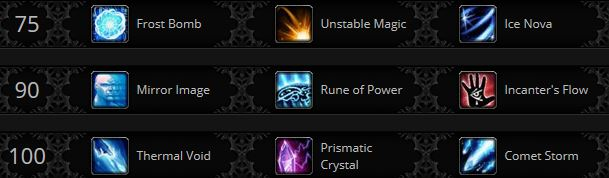 Warlords Mage frost