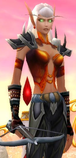 Blood Elf Beast Mastery Hunter