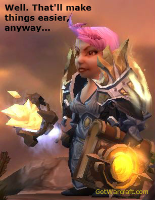 Gnome Priest ponders new talent system...