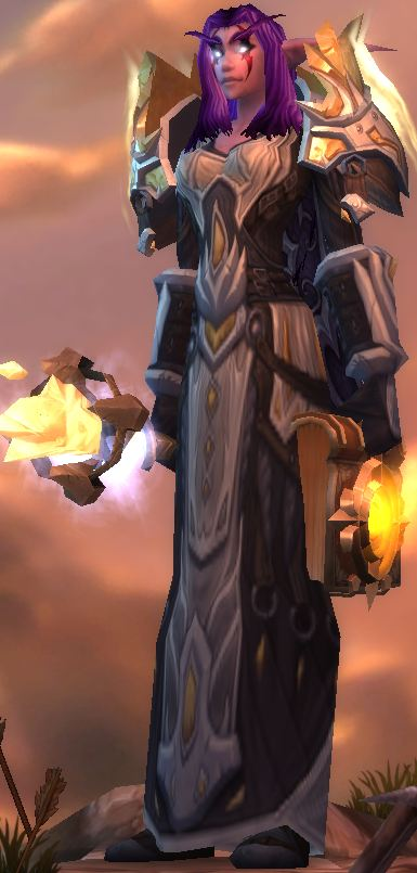 Your Night Elf Priest Guide, showing you the way