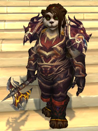 Female Pandaren Warrior