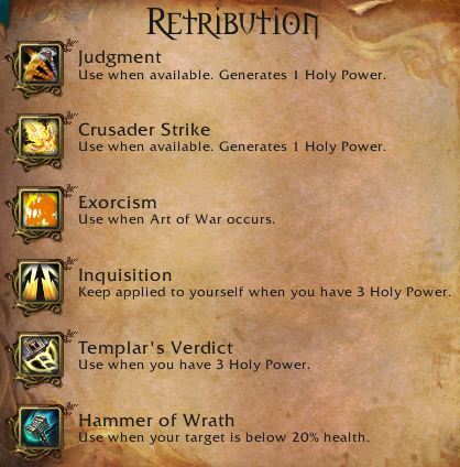 Core Retribution Abilities in Mists