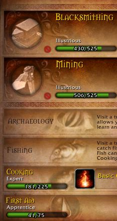 Professions in Warlords of Draenor