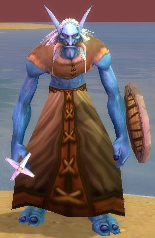 Troll shaman getting ready to level to 90