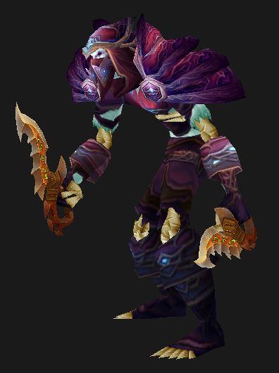 Undead Assassination Rogue in Field Marshall's Armor