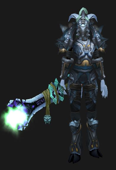 Blood Spec Draenei Tank in Koltira's Battlegear