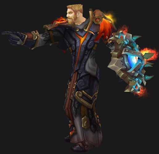 Human Protection Paladin in T16 Gear pointing at the stats to use