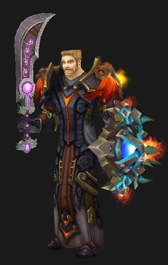 Human Protection Paladin in T16 Gear
