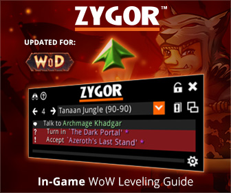 Get Leveled ASAP. with Zygor