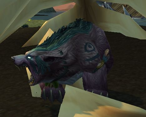 Night Elf Feral Bear