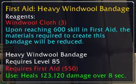 A pretty nice bandage