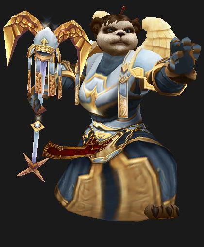 Pandaren Priestess, Tier 5 Raid Set