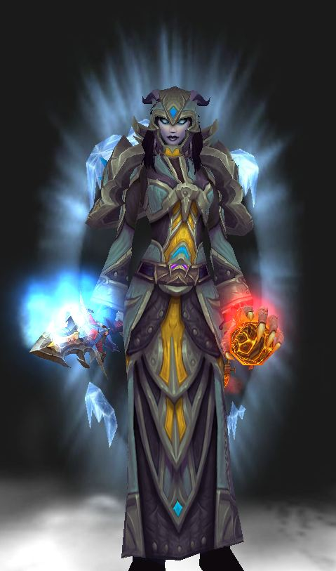 Draenei Female Frost Mage