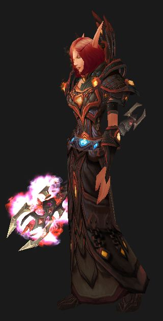 Fire Mage in Season 11 Cataclysmic Gladiator's Gear