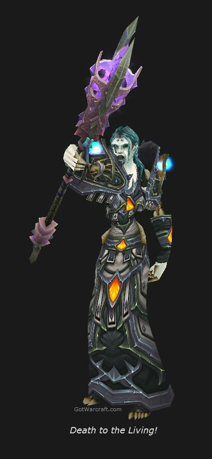 Undead Shadow Priest in Season 11 Gear