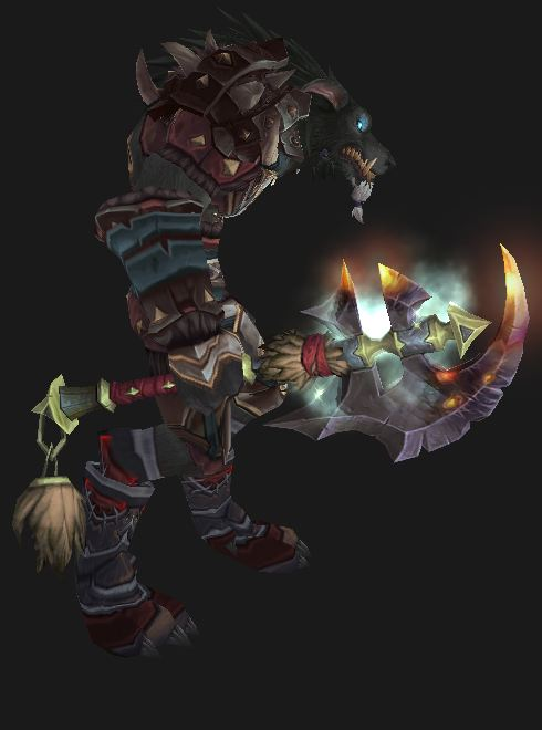 Worgen Warrior in Season 11 gear