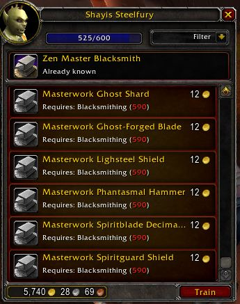 Zen Master Blacksmithing
