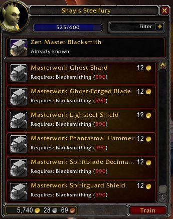 Zen Master Blacksmithing
