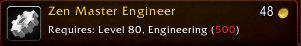 Zen Master Engineer