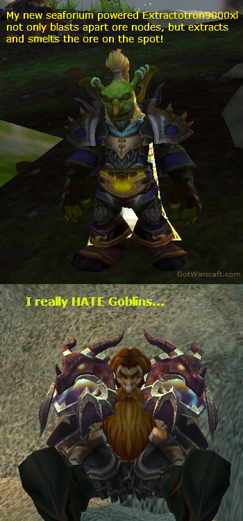 Goblin Mining Vs. Dwarf Mining