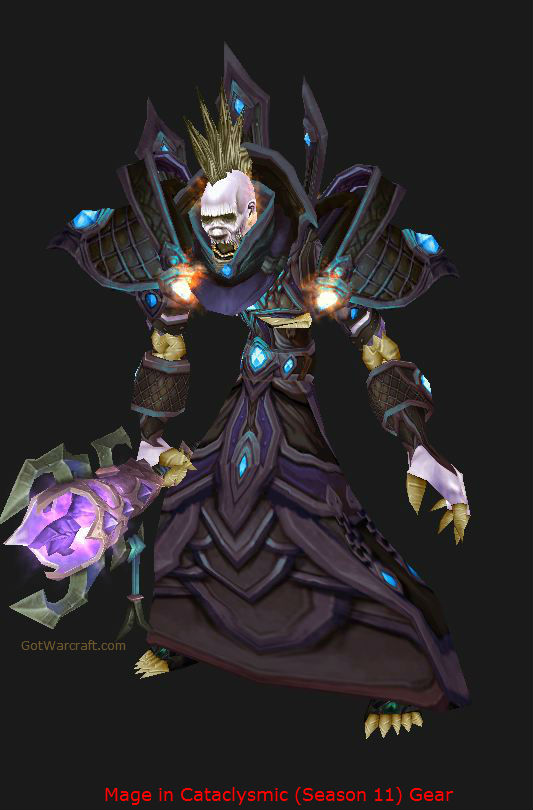 Undead Mage in Season 11 Cataclysmic Gear