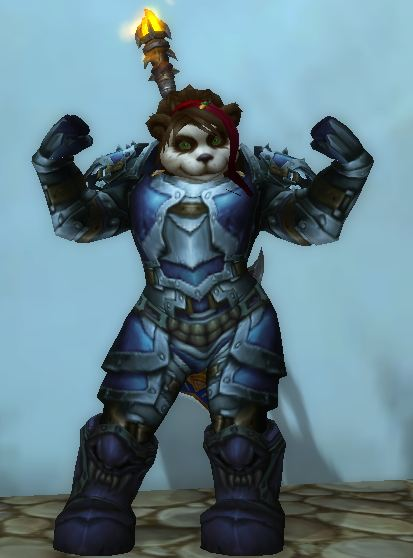 Pandaren Arms Warrior