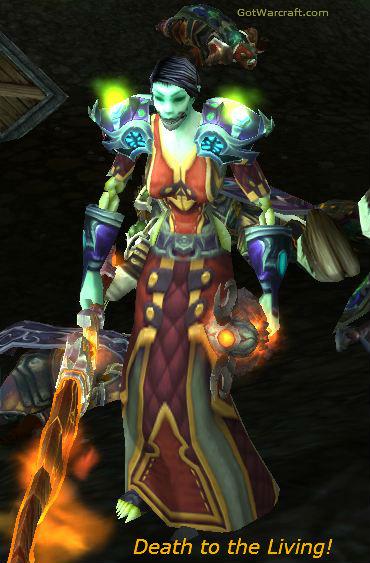 Undead Warlock, Minding her Business