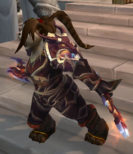 Furious Pandaren Warrior