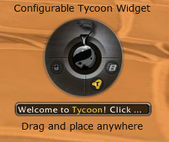 The Tycoon Gold Addon - Move it around and change the look