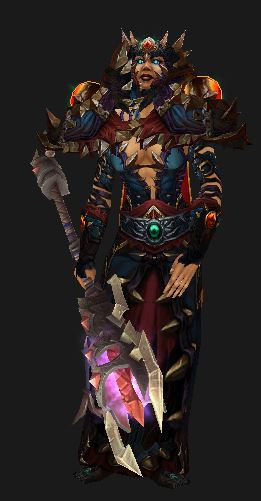 Human Affliction Warlock in Season 11 PvP Gear