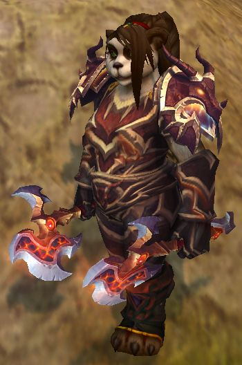 Pandaren Fury Warrior