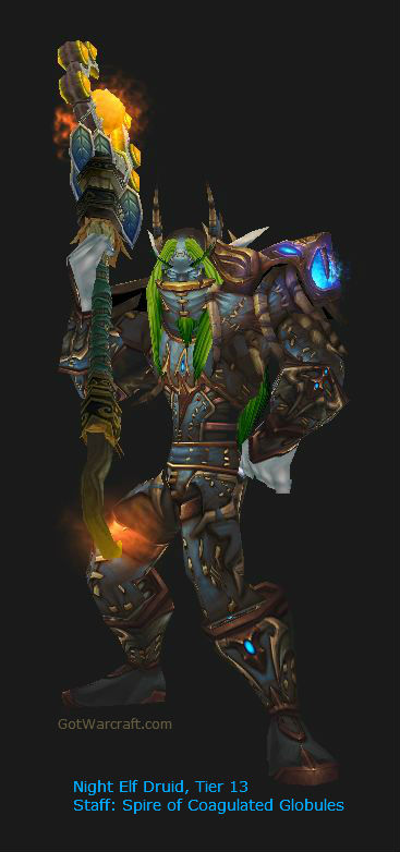 Night Elf Druid Tier 13 gear