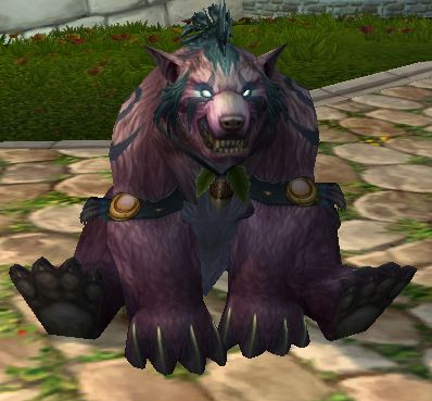 Bear Druid after a long day