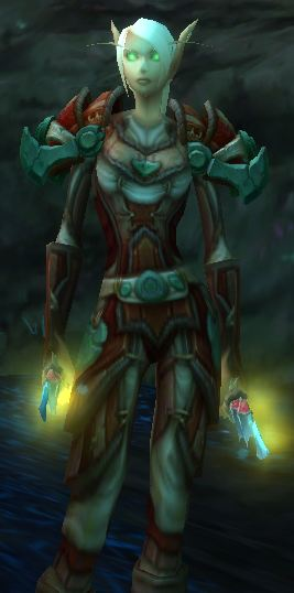 Level 90 Blood Elf Rogue, Contender's PvP gear set