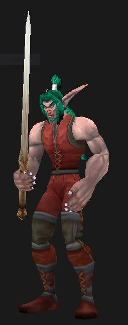 Night Elf Level 1 Warrior