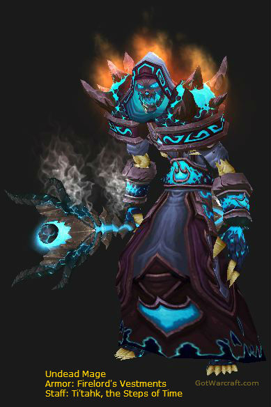 Undead Mage, Firelord Gear