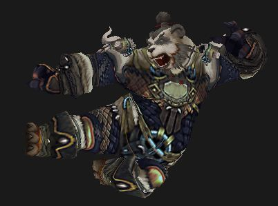 Pandaren Windwalker Flying Kick