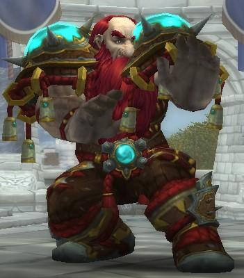 Dwarf Monk ready for Shadowlands