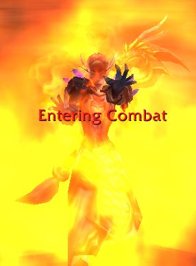 Fire Mage Entering Combat