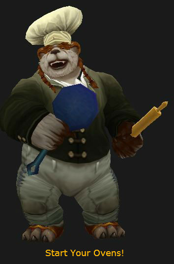 Pandaren Chef is Ready to Cook!
