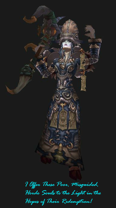 Draenei Discipline Priest PvP Gear: Season 13 elite