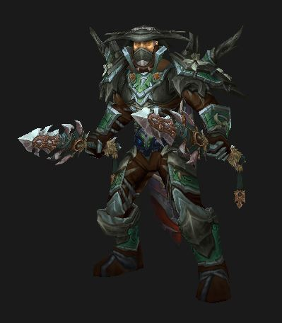 Human Rogue in Season 13 Tyrannical Elite PvP Gear