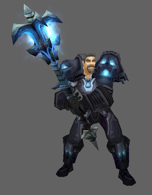 Human in Dreadnaught's Battlegear