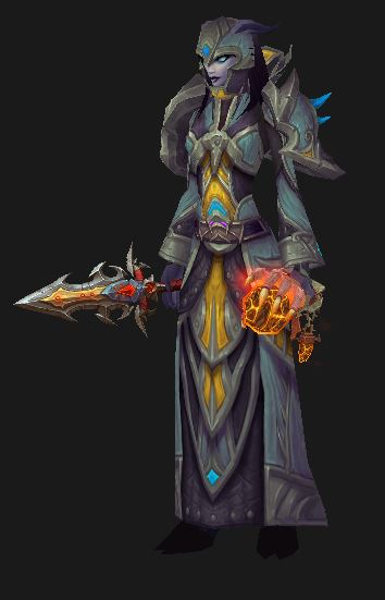 Draenei Frost Mage considers the mage 5.4 patch notes