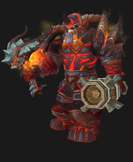 Dwarf Fury Warrior, in Colossal Dragonplate Battlegear, ponders the patch 5.4 Warrior changes