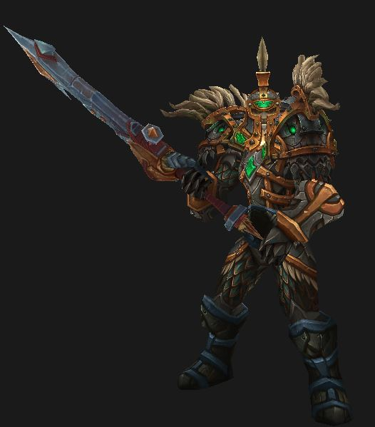 Human Warrior in Crafted Malevolent Gladiator's PvP Gear