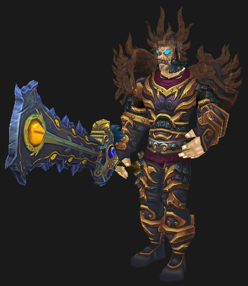 Human Warrior Tyrannical Gladiator's PvP Gear