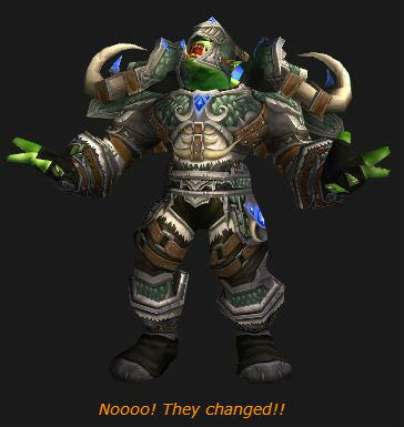 Orc Hunter bemoans the 5.4 patch changes